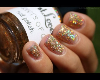 "Nail Polish-""Streets of Gold"""