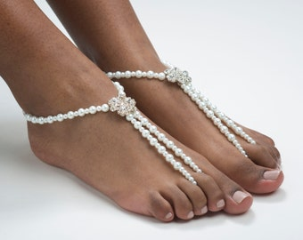 Barefoot Sandals Wedding Barefoot Sandals Destination Wedding Foot Jewelry Beach Wedding