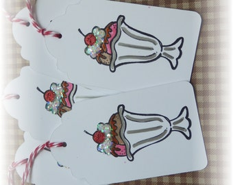 Ice Cream Sundae Tags (5)