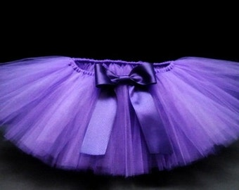Purple Tutu- Infant Tutu- Baby Tutu- Tutu Skirt- Tutu- Tutu Available In Different Colors- Newborn Tutu- Available In Size 0-24 Months