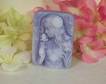 beautiful girl soap beautiful lady goddess scented in orchid rain floral flower