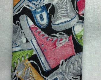 Tennis Shoe Checkbook Cover