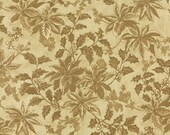 Winterlude - Poinsettia in Tonal Parchment by 3 Sisters for Moda Fabrics