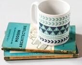 Coffee Mug - MUG Coffee Mug Ceramic Mug Printed Mug Tea Drinking Kitchen Geometric