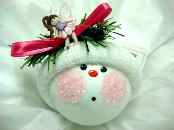 Fairy Ornament Hair Color Choice Christmas Townsend Custom Gifts