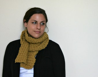 Chunky Scarf - Textured Scarf - Two Colors Available