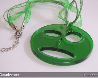 Modus Paras (Mood Faces) Pendant - Green