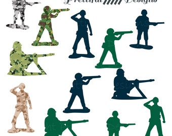 Army Men Clip Art - Camouflage Army Green Navy png, eps, svg Vector Cut Files