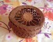 Vintage Potpourri Basket