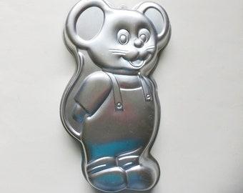 Wilton Little Mouse Cake Pan Vintage 1987