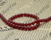 8 mm Red Jade  Round beads Gemstone,Jade loose beads,round Jade bead loose strand 15 inch