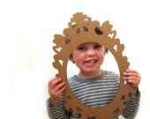 Decorative Cardboard Frames - Photobooth Frames, Paper Frames, Picture Frames, Brown Frames, Frame Prop, Photobooth Prop, Wall Frame