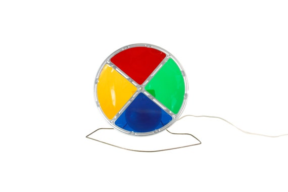 Color Wheel Christmas Tree Light