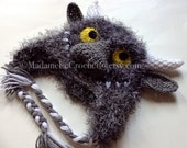 """Crochet Hat """"Where the Wild Things Are"""""""