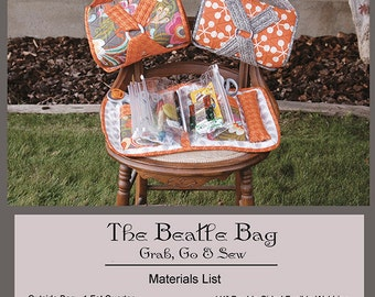 Abbey Lane The Beatle Bag Pattern with Bags