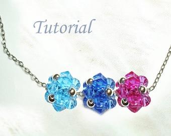 Beading Tutorial - Beaded Simple Bead Pendant