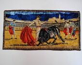 Vintage Matador Woven Silk Mat