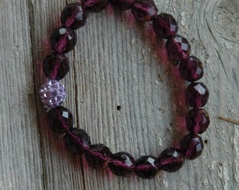 Royal Robes Anniversary Bracelet - Proceeds Benefit Cancer Research