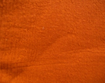 Fabric Destash - Pumpkin Cotton Crinkle Gauze Fabric