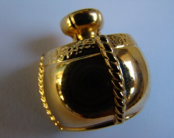 YSL Yves Saint Laurent Little Brooch  for the Perfume Champagne