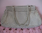 1940's Purse Handbag, Whiting and Davis Mesh