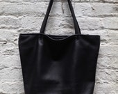 Leather Perfect Tote - Standard Version - Choice of leather and lining - Laurel Dasso