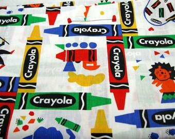 Crayola Crayon Fabric