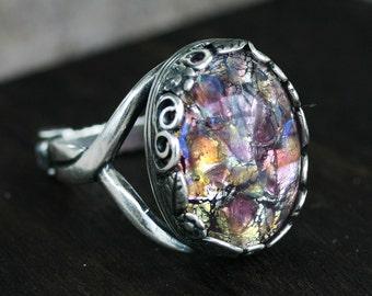 Amethyst Opal Ring - Sizes 5-10
