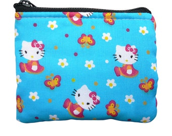 Hello Kitty with Butterfly Coin Bag
