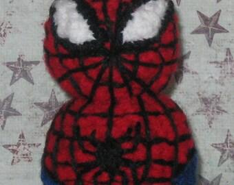 Spiderman Amigurumi Doll