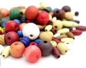 Wood Beads Assorted Mixture Craft Beads