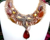 The Dancing Phoenix Necklace