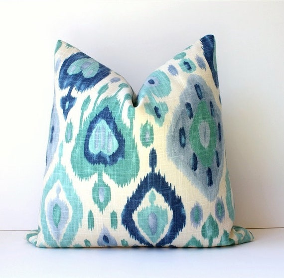 Good Blue And Teal Pillows Part - 2: Like This Item?