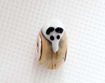 1Pc Murnao Glass Beads Charm Fit European Bracelet Rat 17mm x 14mm x 10mm  jaz515