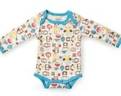 Mezoome Organic Baby Bodysuit  /  Baby wear  /  Baby clothes / baby sleeper