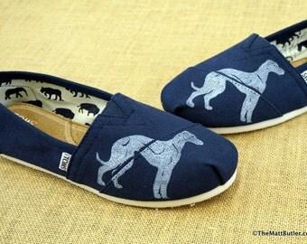 Greyhound Dog TOMS Shoes