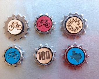 BIKE GEAR MAGNET - your pick
