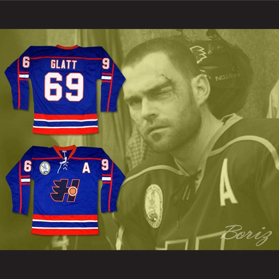 Doug Glatt Halifax Highlanders Hockey Jersey Includes EMHL and A Patches