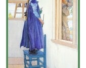 Carl Larsson's Suzanne Painting  Counted Cross Stitch Chart