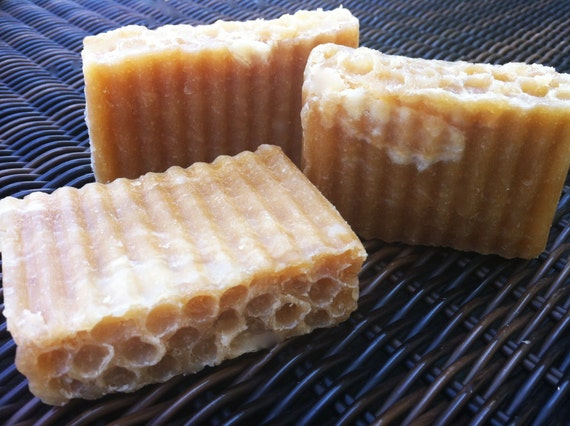 LAST ONE in stock!  Shea Butter and local AMISH Honey Soap with Natural Raw Unrefined Shea Butter and Natural Raw Honey
