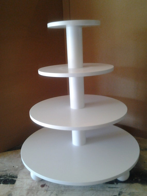 how to make a 4 tier square wedding cake 4 tier or square custom made cupcake stand with 15788