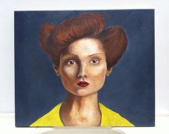 Fashion Woman Painting by Jenny Hambleton