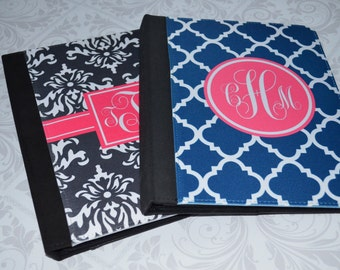 Personalized iPad 2 Folio, New iPad Folio Case with Monogram,  Design your Own Tablet Stand - Monogrammed  iPad mini cover