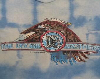 DOOBIE BROTHERS 1976 tour T SHIRT