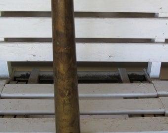 Vintage Brass Fire Nozzle / Fireman Decor / Wall Decor / Fire house decor