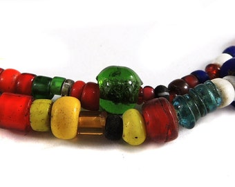 Trade Beads Mixed Seed and Venetian Thailand 84096
