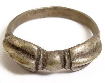 Tibetan Dorje Ring Silver Medium Size 9.5-10 59911 SALE WAS 9.99