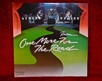 LYNYRD SKYNYRD BAND - One More for the Road - 1976 Vintage Vinyl 2 lp Gatefold Record Album...Embossed Cover