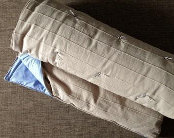 Inbetweenie size older child (preteen) sleeping bag, blue lining