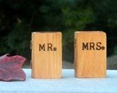 Wedding ring boxes Set MR and MRS tiny box Wedding ring pillow alternative
